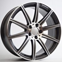 Alufelgi Mako 19×9.5 5×112 ET44 Grey Faced Machined