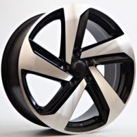 Alufelgi Point 19×8.5 5×112 ET45 Black Faced Machined