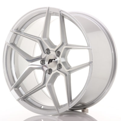 Alufelgi Japan Racing JR34 20×10 ET40 5×120 Silver Machined