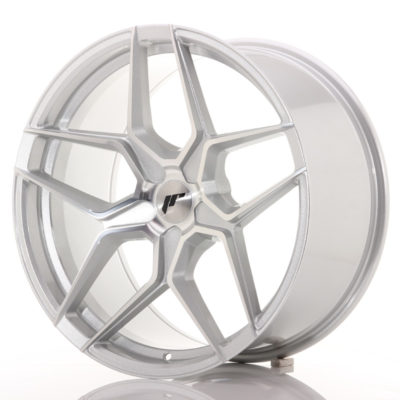 Alufelgi Japan Racing JR34 20×10 ET20-40 5H Blank Silver Ma