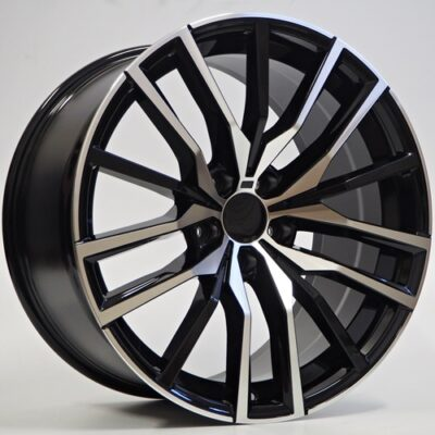 Felgi Fang 20×10.5 5×112 ET40 Black Faced Machined