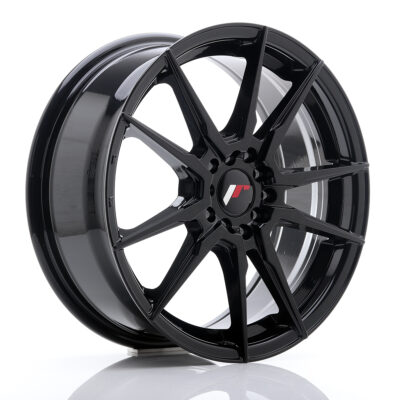 Felgi Japan Racing JR21 17x7 5x114.3/5x100 ET40 czarne