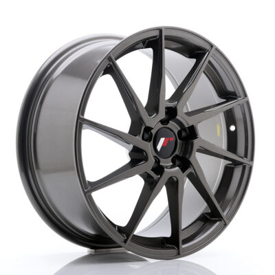 Felgi Japan Racing JR36 18x8'' 5x112 ET45 szare